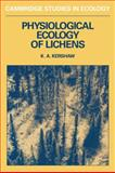 Physiolgical Ecology of Lichens, Kershaw, Kenneth A., 0521283493