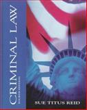 Criminal Law, Reid, Sue Titus, 0070653496