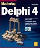 Mastering Delphi 4, Cantu, Marco, 0782123503