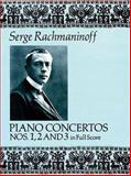 Piano Concertos Nos. 1, 2 and 3 in Full Score, Sergei Rachmaninoff, 0486263509