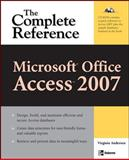 Microsoft Office Access 2007, Andersen, Virginia, 0072263504