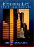 Business Law for a New Century, Samuelson, Susan S. and Beatty, Jeffrey F., 0324003501