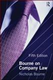 Bourne on Company Law, Bourne, Nicholas, 041556350X