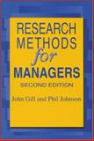 Research Methods for Managers, Gill, John and Johnson, Phil, 185396350X