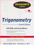 Trigonometry : 611 Fully Solved Problems, Moyer, Robert and Ayres, Frank, 0071543503