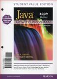 Student Value Edition for Java How to Program (early Objects), Deitel, Paul, 0132893517