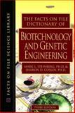 The Facts on File Dictionary of Biotechnology and Genetic Engineering, Steinberg, Mark L. and Cosloy, Sharon D., 0816063516