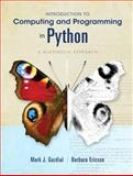 Introduction to Computing and Programming in Python, Guzdial, Mark J. and Ericson, Barbara, 0132923513