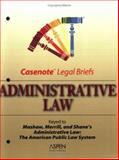 Administrative Law, Casenotes, 0735543518
