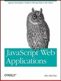 JavaScript Web Applications, MacCaw, Alex, 144930351X