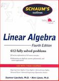 Linear Algebra, Lipschutz, Seymour and Lipson, Marc, 007154352X