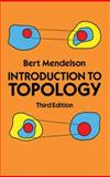 Introduction to Topology, Mendelson, Bert, 0486663523