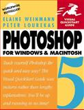 Photoshop 5 for Windows and Macintosh, Weinmann, Elaine and Lourekas, Peter, 0201353520