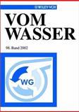 Vom Wasser, 98 : Band 2002, Fachgruppe, 3527303529