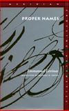 Proper Names, Emmanuel Levinas, 0804723524