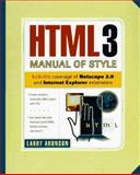 HTML 3.0 Manual of Style, Aronson, Larry, 1562763520