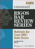 MBE Audio : Constitutional Law, Rigos, James J., 0735583528