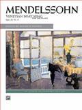 Venetian Boat Song, Op. 30, No. 6, Felix Mendelssohn, 073901353X