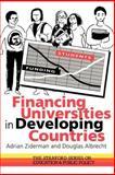 Financing Universities in Developing Countries, Albrecht, Douglas and Ziderman, Adrian, 0750703539