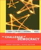 The Challenge of Democracy, Goldman, Jerry and Janda, Kenneth, 0618503536