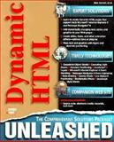 Dymnamic HTML Unleashed, Van Hoozer, Michael, 1575213532