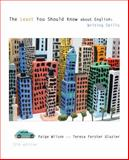 The Least You Should Know about English : Writing Skills, Wilson, Paige and Glazier, Teresa Ferster, 1285443535