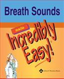Breath Sounds, Springhouse Publishing Company Staff, 1582553548