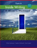 Inside Writing : Form A, Salomone, William and McDonald, Stephen, 1285443543