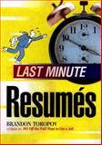 Last Minute Resumes 9781564143549