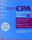 Wiley CPA Examination Review Practice Software 7. 0, Complete Exam, Delaney, Patrick R. and Whittington, O. Ray, 0471213551