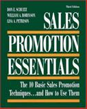 Sales Promotion Essentials : The 10 Basic Sales Promotion Techniques... and How to Use Them, Schultz, Don E. and Robinson, William A., 0844233552
