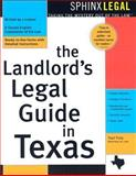 The Landlord's Legal Guide in Texas, Traci Truly, 1572483555