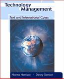 Technology Management : Text and International Cases, Harrison, Norman B. and Samson, Danny, 0072383550