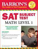Barron's SAT Subject Test Math Level 1, Ira K. Wolf, 0764143557