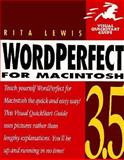 WordPerfect 3.5 for Macintosh, Lewis, Rita, 0201883554