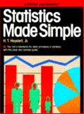 Statistics Made Simple, H. T. Hayslett, 0385023553