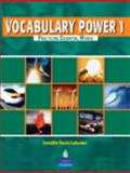 Vocabulary Power 1 : Practicing Essential Words, Lebedev, Jennifer Recio, 0132283565
