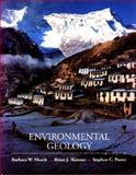 Environmental Geology, Murck, Barbara Winifred and Skinner, Brian J., 0471303569