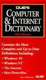 Que's 1996 Computer and Internet Dictionary, Pfaffenberger, Bryan, 0789703564