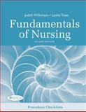Procedure Checklists for Fundamentals of Nursing, Wilkinson, Judith and Treas, Leslie, 0803623569