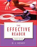 Effective Reader, the Plus NEW MyReadingLab with EText -- Access Card Package, Henry, D. J., 0321993578