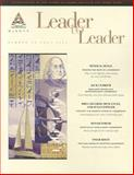 Leader to Leader (LTL), Fall 2005, LTL (Leader to Leader) Staff and LeBoeuf, Joe, 0787983578