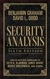 Security Analysis, Graham, Benjamin and Dodd, David, 0071623574