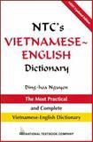 NTC's Vietnamese - English Dictionary, Nguyen, Dinh-Hoa, 0844283576