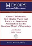 General Relativistic Self-Similar Waves That Induce an Anomalous Acceleration into the Standard Model of Cosmology, Joel Smoller and Blake Temple, 0821853589