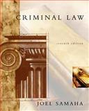 Criminal Law, Samaha, Joel, 0534563589