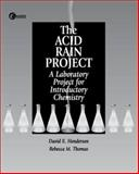 Acid Rain Project Custom 9780070143586