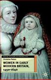 Women in Early Britain, 1450-1640, Peters, Christine, 033363358X
