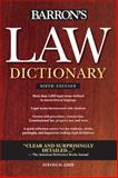 Barron's Law Dictionary, Steven H. Gifis, 0764143581