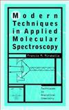 Modern Techniques in Applied Molecular Spectroscopy, , 0471123595